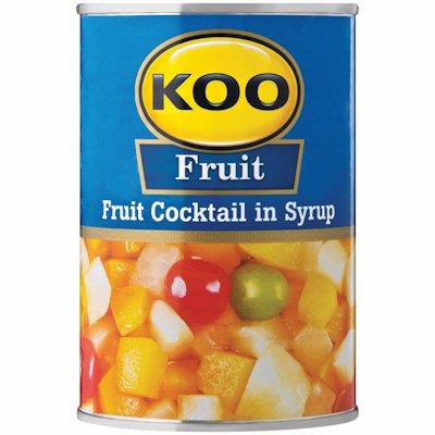 KOO FRUIT COCKTAIL IN SYRUP 410GR