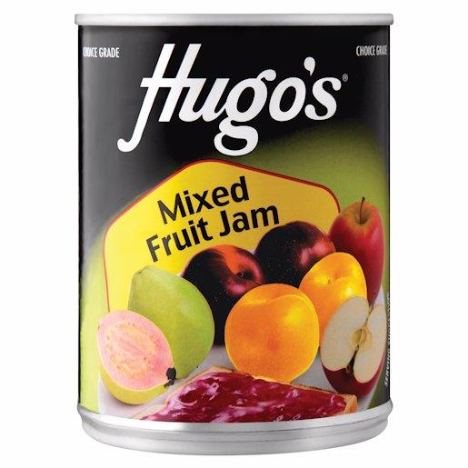 HUGO'S JAM MIXED FRUIT 450GR