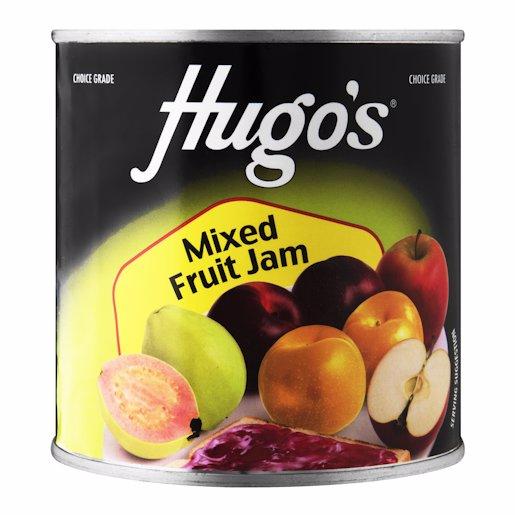HUGO'S JAM MIXED FRUIT (T) KVI 900GR