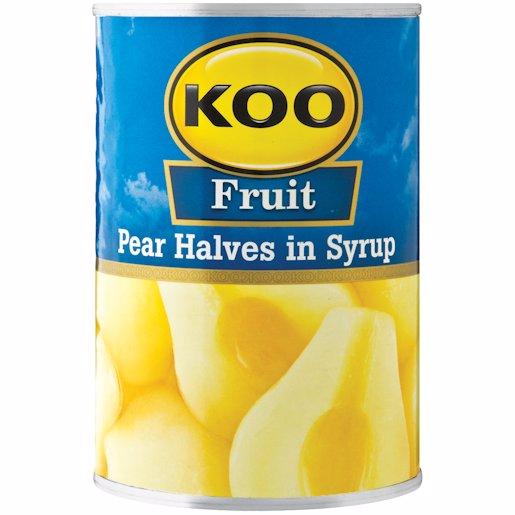 KOO PEAR HALVES 410GR