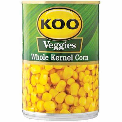 KOO KERNEL CORN WHOLE IN BRINE 410GR