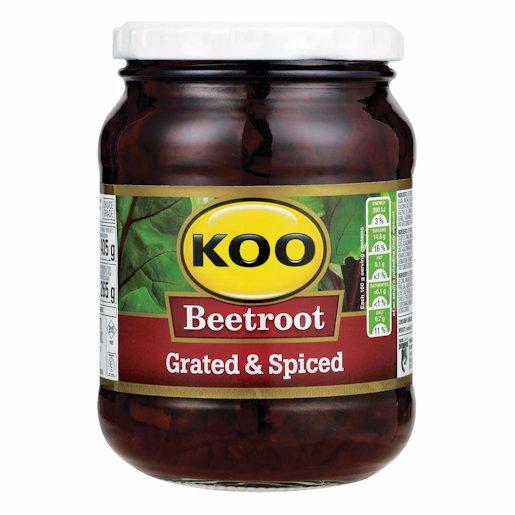 KOO BEETROOT GRATED JAR 405GR