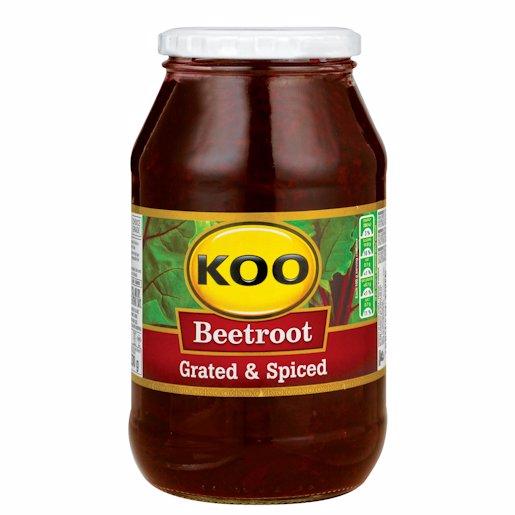 KOO BEETROOT GRATED JAR 780GR