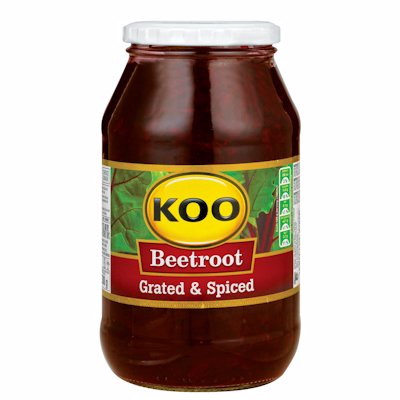 KOO BEETROOT GRATED & SPICED 780G