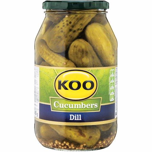 KOO DILL CUCUMBERS 750GR