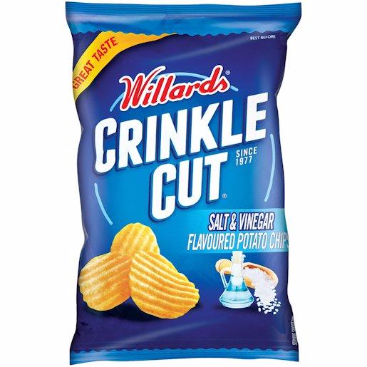WILLARDS CRINKEL S/VINEGAR 125GR