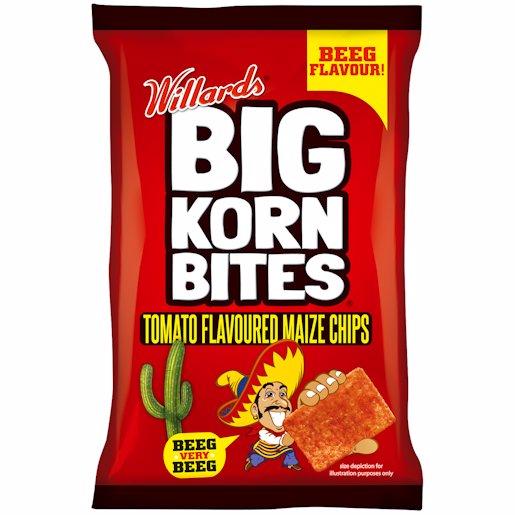 BIG KORN BITES TOMATO 50GR