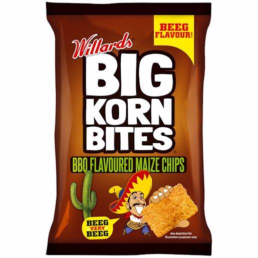 BIG KORN BITES BBQ 50GR