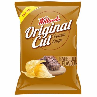 WILLARDS ORIGINAL CUT BBQ FLAVOUR 125GR