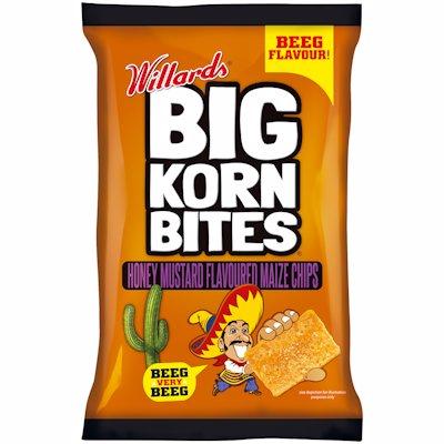 BIG KORN BITES HONEY MUSTARD 120GR