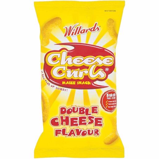WILLARDS CHEESE CURLS 14GR