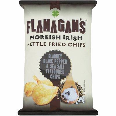 FLANAGAN'S BLACK PEPPER & SEA SALT FLAVOUR 125G