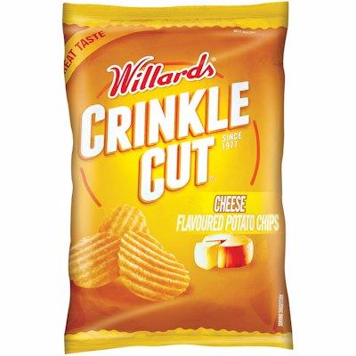 WILLARDS C/CUT CHEESE 125GR