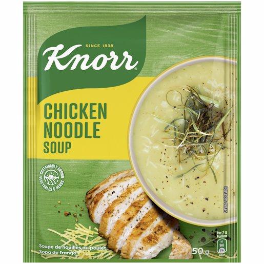 KNORR SOUP CHICK NOODLE 50GR