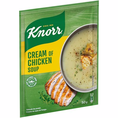 KNORR SOUP CREAM OF CHIC 50GR