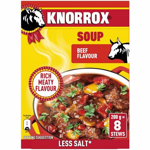 KNORROX SOUP BEEF 200GR