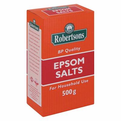 ROBERTSONS EPSOM SALTS 500G