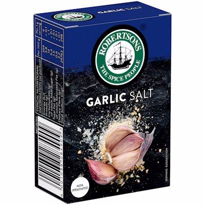 ROBERTSONS GARLIC SALT REFILL BOX 100G
