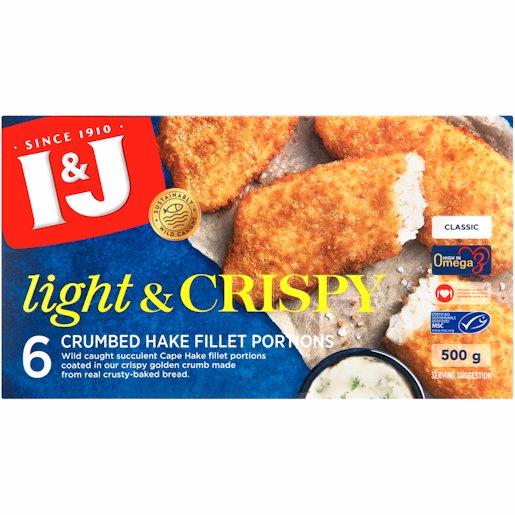I&J LIGHT & CRISPY CLASSIC 500G