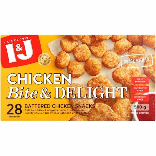 I&J CHIC BITE&DELIGHT S/P 500GR