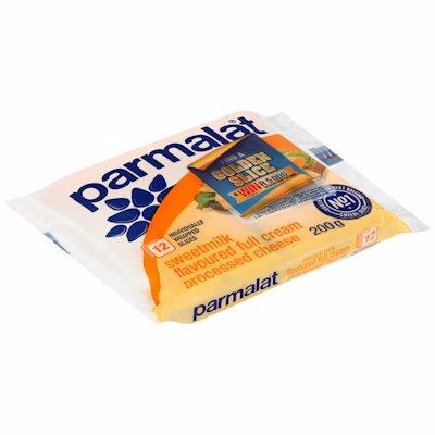 PARMALAT CHS SLICE S/MILK 200GR