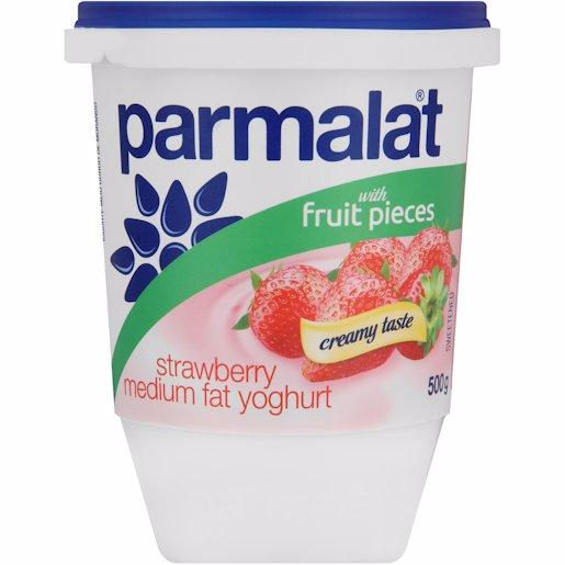 PARMALAT YOG L/FAT S/BERRY 500GR