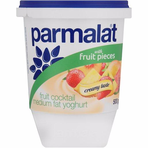 PARMALAT YOG L/FAT FRUIT SALAD 500GR
