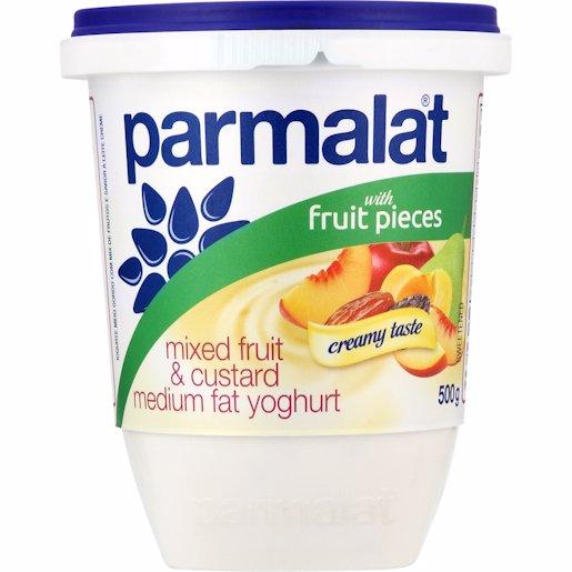 PARMALAT YOG L/FAT FRT & CUST 500GR