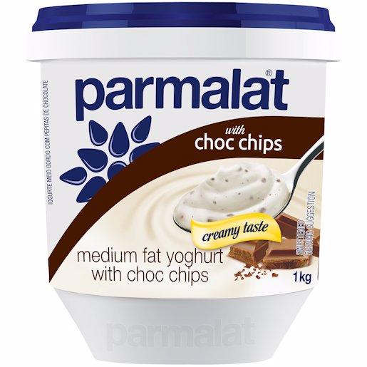 PARM YOG L/FAT CHOC CHIP 1KG