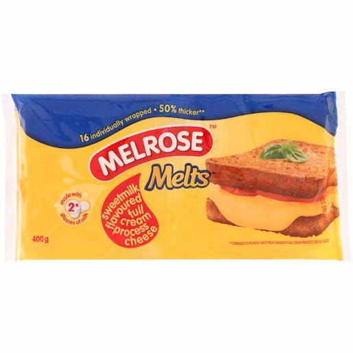 MELROSE MELTS SLC S/MILK 400GR