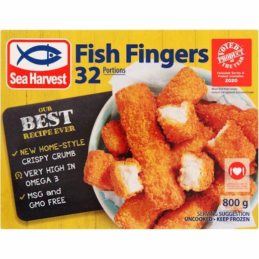 S/HARVEST FISH FINGERS KVI 800G