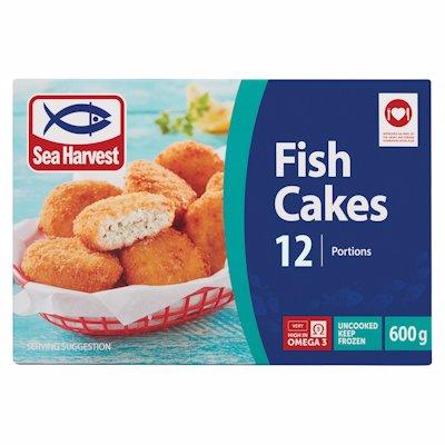 S/HARVEST FISH CAKES 600G