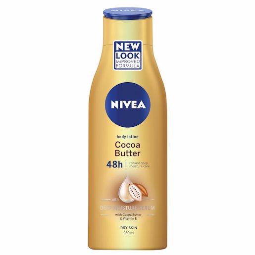 NIVEA BODY LOT COCOA BUTT 250ML