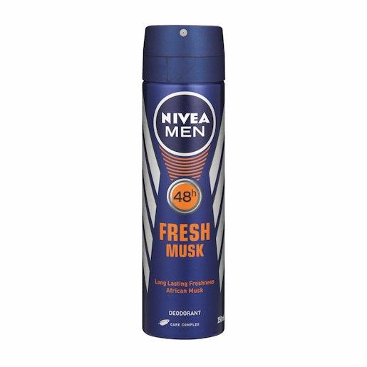 NIVEA MEN SPRY FRESH MUSK 150ML