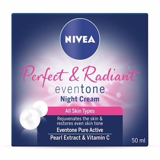 NIVEA PERF&RAD NIGHT CRM 50ML