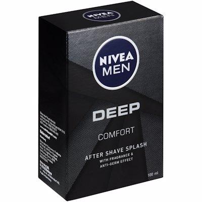 NIVEA MEN AFTER SHAVE SPLASH DEEP COMFORT 100ML