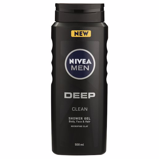 NIVEA SH/GEL MEN DEEP 500ML