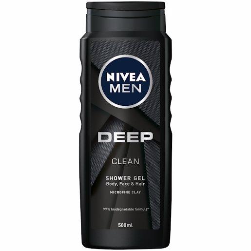 NIVEA SH/GEL MEN DEEP 500ML