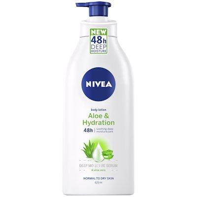 NIVEA BODY LOTION ALOE & HYDRATION 625ML