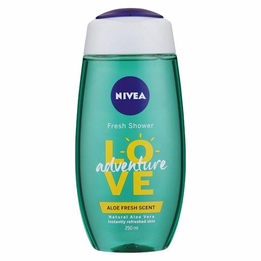 NIVEA SH/GEL LOVE&ADVENTR 250ML