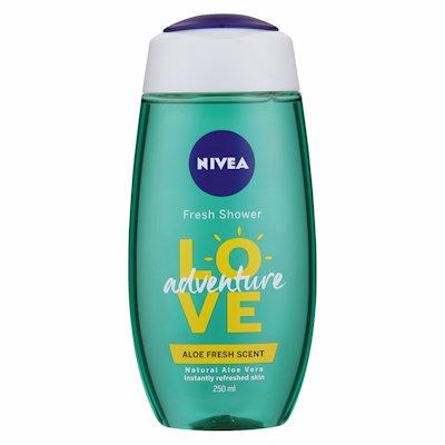 NIVEA SHOWER GEL ADVENTURE LOVE 250ML