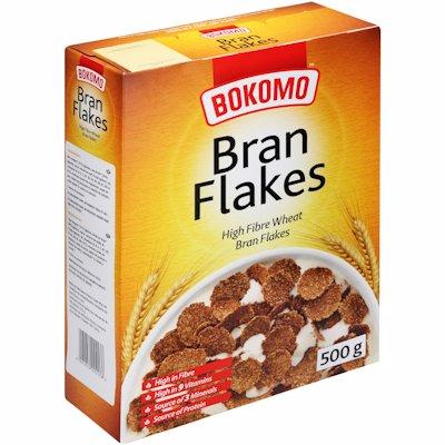 BOKOMO BRAN FLAKES 500GR