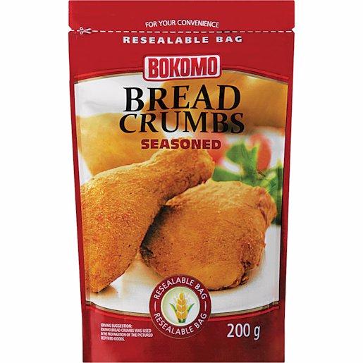 BOKOMO BREAD CRUMBS SEASONED 200G