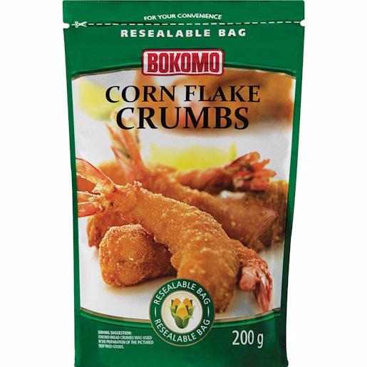 BOKOMO BREAD CRUMBS CORN FLAKE 200G
