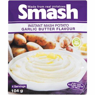 SMASH GARLIC/BUTTER 104GR