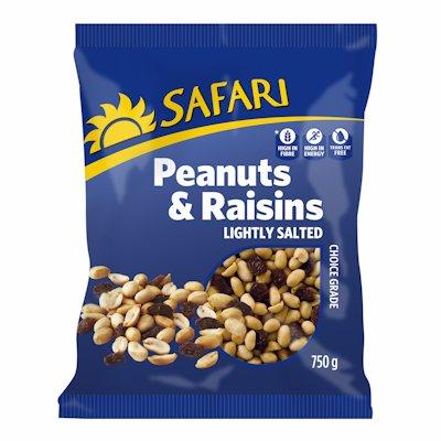 Peanuts&Raisins:TS:8x750g:Safa 750GR