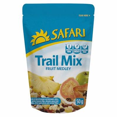 SAFARI TRAIL MIX FRUIT MEDLEY 50G