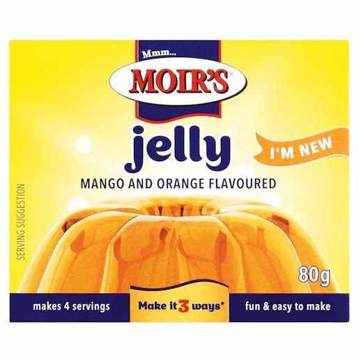 MOIRS JELLY MANGO & ORANG 80GR
