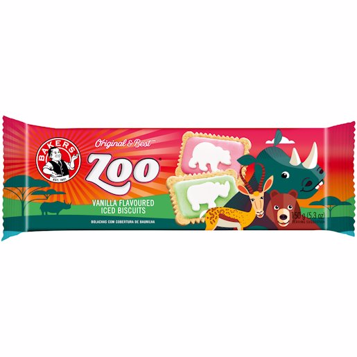 BAKERS KZ ICED ZOO 150G