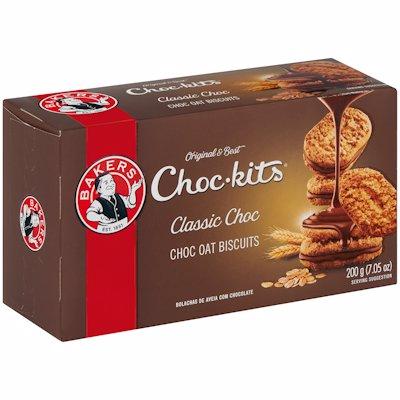 BAKERS CHOC-KITS ORIGINAL 200GR